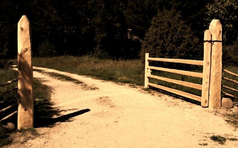 värav, puitvärav, traditsiooniline käsitöö