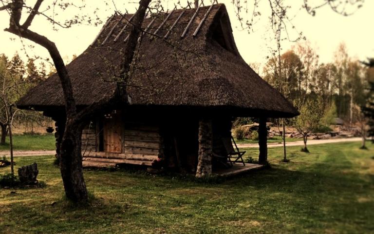 restaureeritud, taastatud, ait, traditsiooniline käsitöö